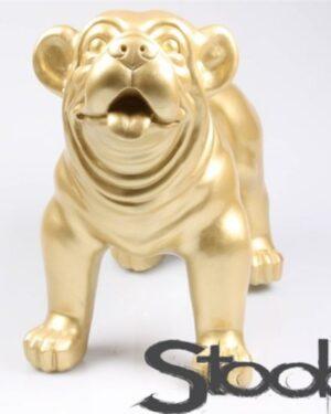 Gouden beeld van een engelse bulldog pup kopen