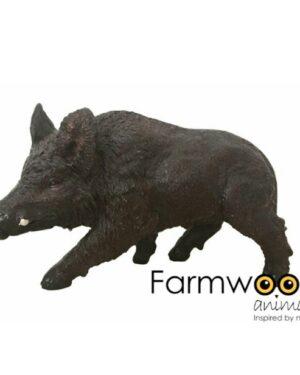 Kunststof beelden van wilde dieren polyester everzwijn