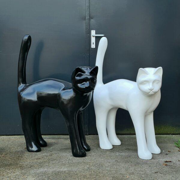 Kattenbeelden, beelden van katten en poezen kopen en bestellen online