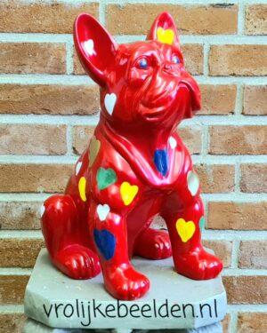 Kunststof honden en hondenbeelden online kopen bij vrolijkebeelden.nl
