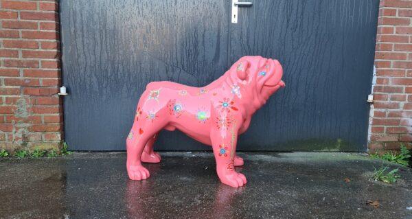 Roze beeldjes en polyester dieren beelden online kopen