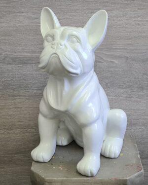 Polyester beeldjes bulldog kopen bij vrolijke beelden in Almelo