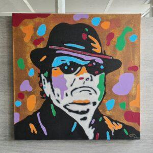 Pop Art kunstenaar schilderijen artiesten schilderen