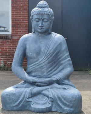 Levensgroot Boeddha beeld beton